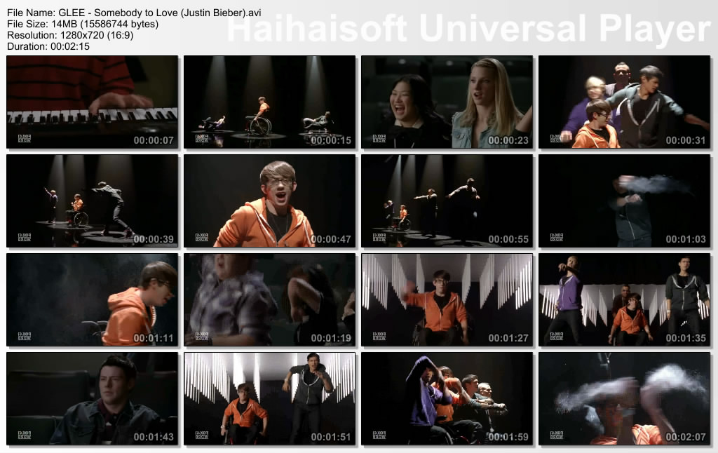 Somebody to love glee cast justin bieber - Julian de meriche